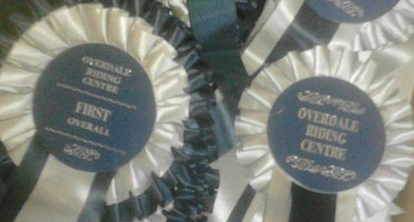 One Day Event Rosettes